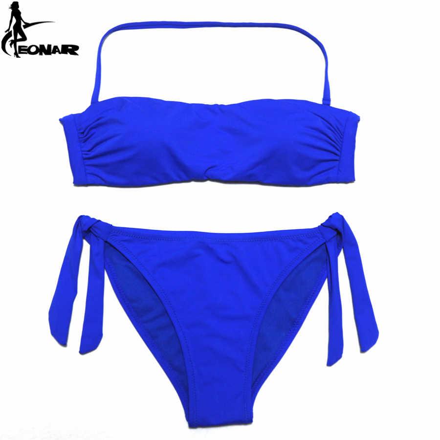 f3567a26d51 ... EONAR Bandeau Bikinis 2018 Women Swimsuit Push Up Brazilian Bikini Set  Swimwear Female Bathing Suits Maillot ...