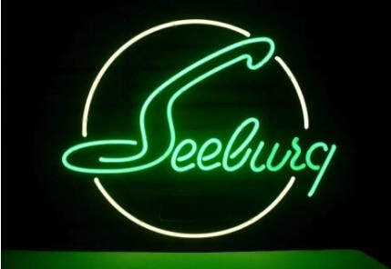 Custom Seeburg Jukebox Neon Light Sign Beer Bar