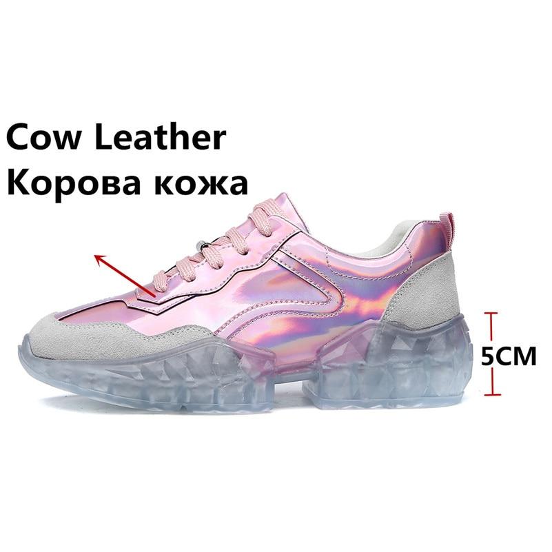 FEDONAS moda mujer Zapatillas calidad zapatos de cuero genuino Primavera Verano Casual ZAPATOS DE TRABAJO Mujer Zapatos deportivos básicos concisos-in Zapatos planos de mujer from zapatos    2