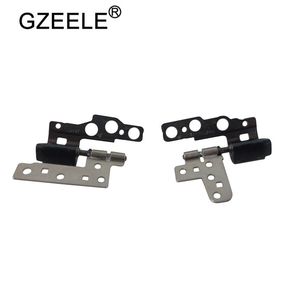 GZEELE New Hinges For HP ENVY 13-AB 13T-AB Left & Right Lcd Hinge Set 909631-001