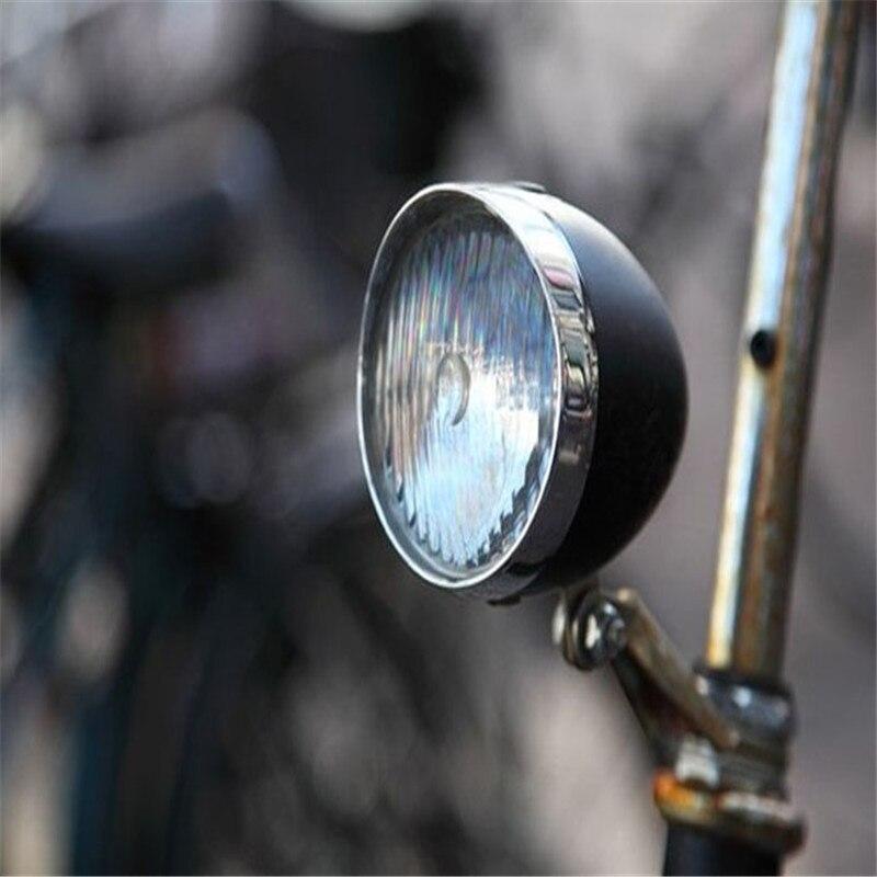 world-wind#3011 Retro Bicycle Bike Accessory Vintage 3LED Headlight Front <font><b>Light</b></font> Bracket free shipping