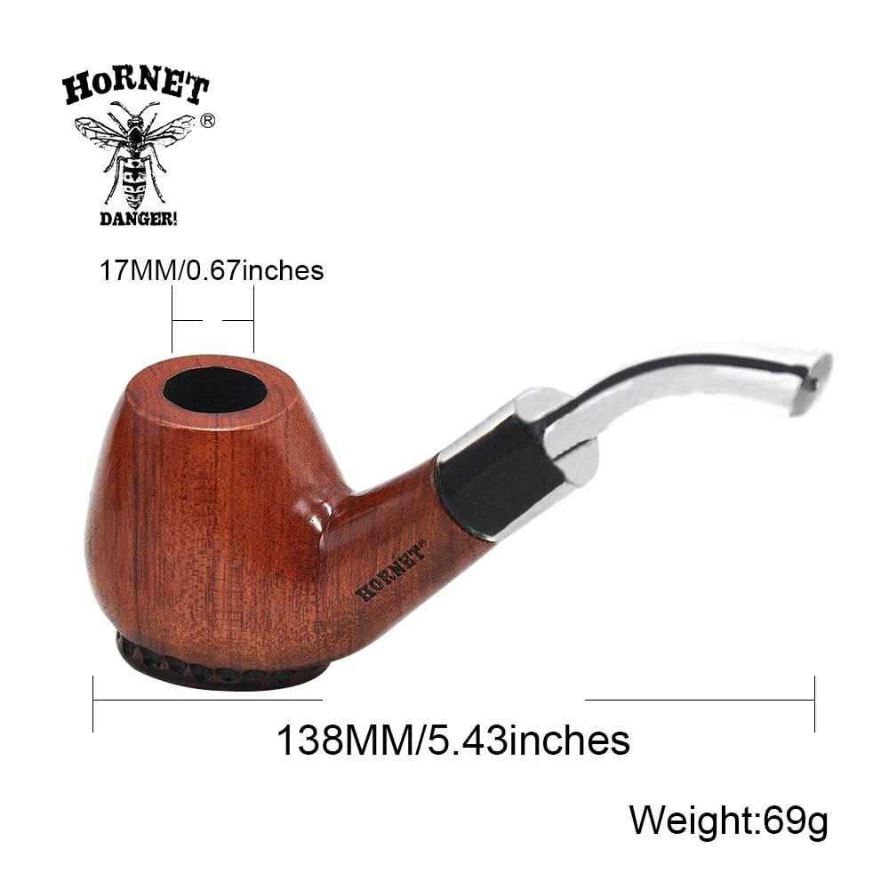 ④Nueva llegada duro Bases Naturaleza de madera de tabaco pipa de ...