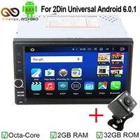 Sinairyu 8 Core 2 Din Android 6.0 2din Universale Autoradio di Navigazione GPS Per auto In Dash PC Video Stereo con Cavo per Nissan