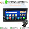 MJDXL 8 Core 2 Din Android 6 0 2din Universal Car Radio Car GPS Navigation In