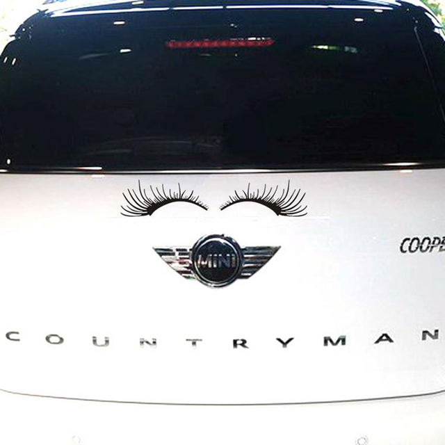 Aliauto Car Styling Eyelashes Car Body Sticker And Decal For Ford