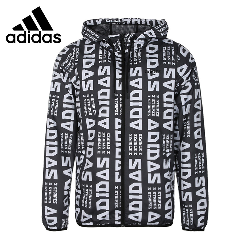Original New Arrival  Adidas NEO M FAV WB Men's jacket Hooded  Sportswear