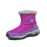 Warme Thermal Baumwolle Beflockung Hohe Qualität frauen Stiefel rutschfeste Plattform Schnee Stiefel Frauen Turnschuhe Outdoor Indoor Stiefel weibliche
