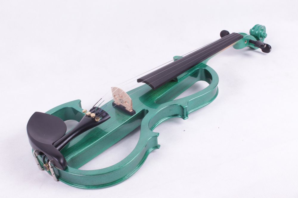 4/4 dark green 4 string Electric violin High quality