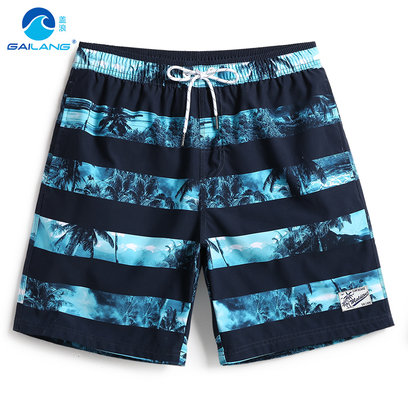 Men's bathing suit   board     shorts   swimwear hawaiian bermudas beach   shorts   quick dry surfing plavky liner sexy swimsuit briefs