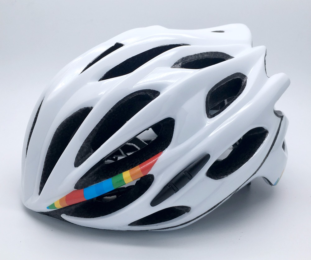 Tour de France Super Light 230g mtb Adults 26 hloes mojito cycling helmet prevail evade road bike bicycle helmet parts