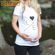 Comfortable Maternity T-shirt Breathable Maternity Nursing
