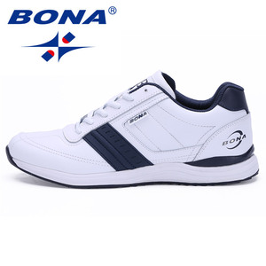 Image 3 - BONA New Popular Style Men Casual Shoes Lace Up Comfortable Shoes Men Soft Lightweight Outsole Hombre  Free  Shipping