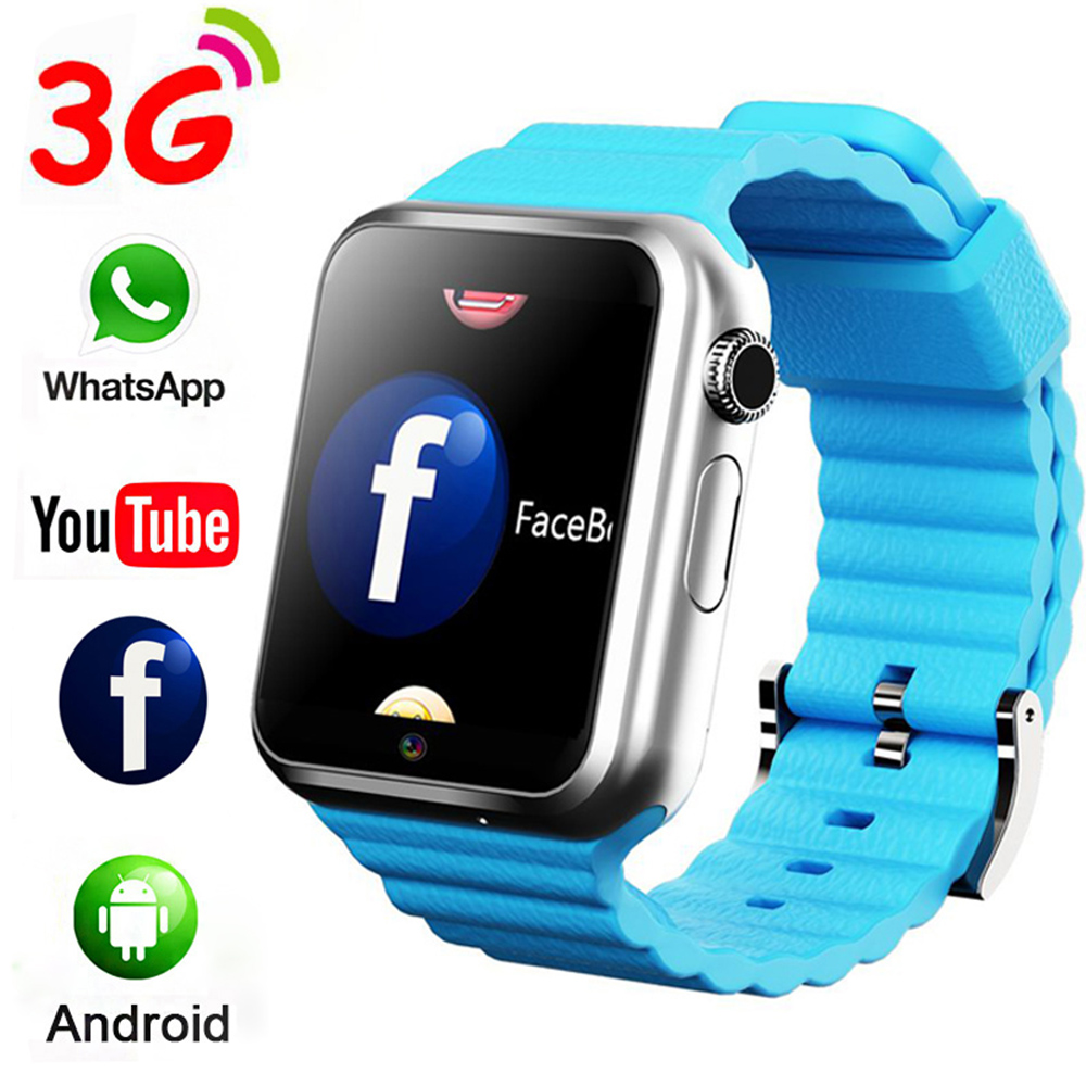 Smart Watch 3G Wifi Sport Fitness Tracker Casual Clock Camera SD Memory Card Watch with Whatsapp Facebook Youtube APP Smartwatch image