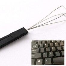 Стальная проволока клавиатура клавишный ключ Съемник пластиковое устройство для удаления рукоятки с разгрузкой стальной чистящий инструмент Ян Прямая поставка