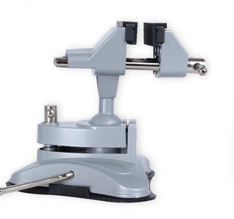 Aluminum Mini Jaw Vice Jewelers Hobby Clamp On Table Bench Vise Tool