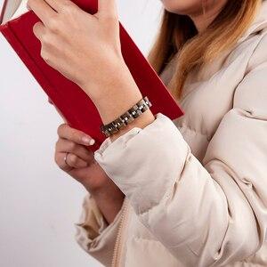 Image 5 - ボボ鳥新木製ブレスレット人の女性の木材女性 браслет женский カラフルな pulseras ギフトボックス