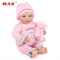 35cm Reborn Baby Doll Silicone Vinly Lovely Girl Doll Children Toys Gift