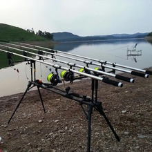 Lixada Wireless  LED Fishing Bite Alarm Set Digital 4 Fishing Bite Alarm + 1 Receiver in Case Adjustable Tone Volume Sensitivity