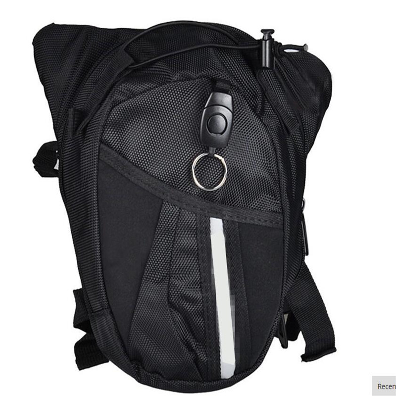 NEW Men Nylon Waist Pack Leg Bag Waterproof Motorcycle Fanny Pack Drop Belt Pouch Fanny Pack Waist Belt Bag 3 colors CHOOSE цена