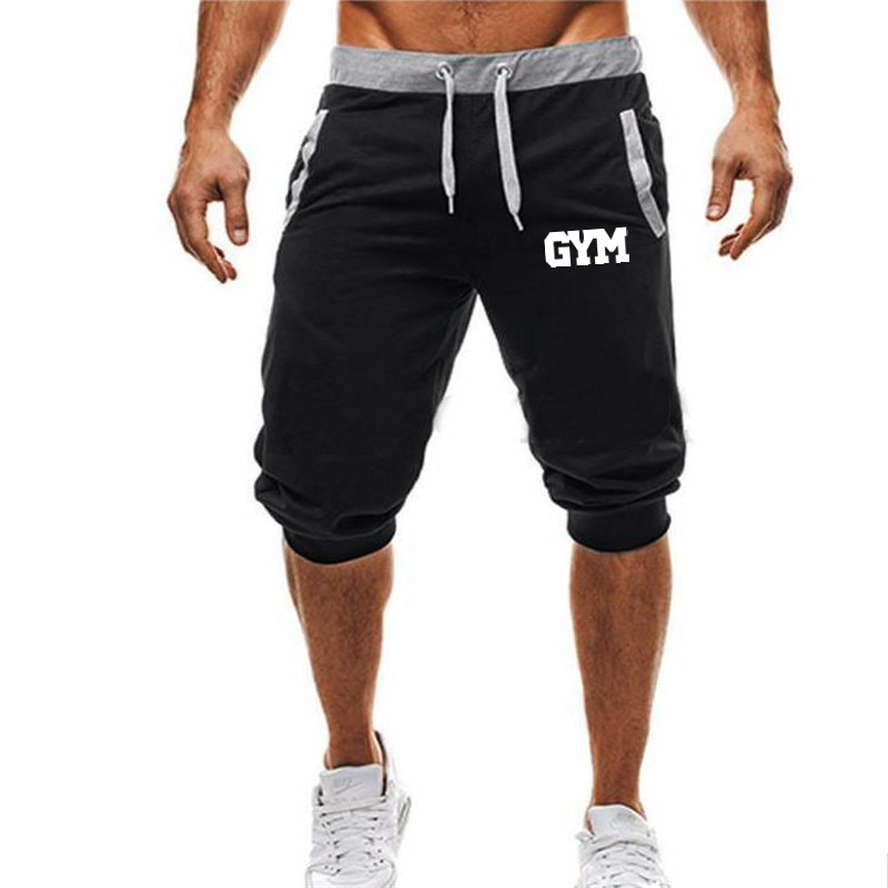 Mens Shorts Summer 2018 Jogger Casual Bermuda Pattern Compression Male Cargo Shorts Men Fashion Clothing Boardshorts XXXL