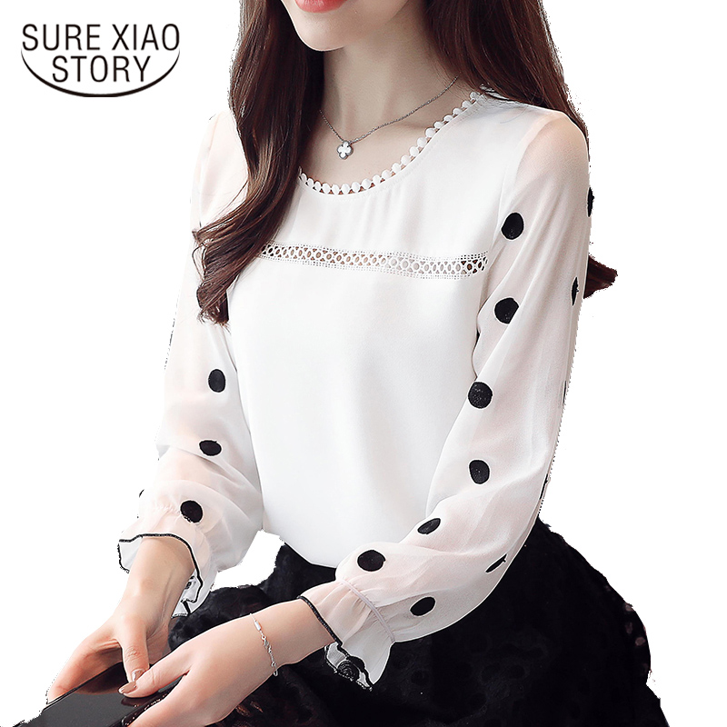 Best buy ) }}new arrived 2018 spring shirt women fashion tops female long sleeves blouse office lady