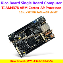 Rico Board AM4378 Development Board TI Cortex-A9 AM4378 Development Board(1GHz TI AM4378 Sitara ARM Processor,1G RAM,16MB Flash)