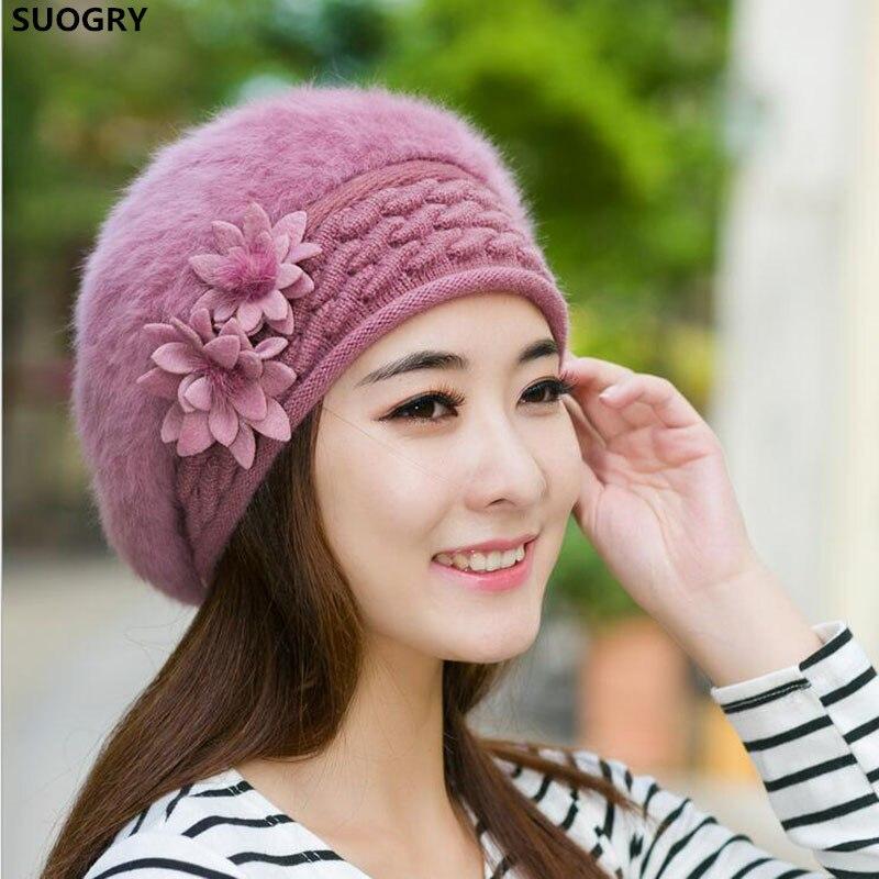 2016 шапочки женские зимние шапки для женщин вязаный берет шапки