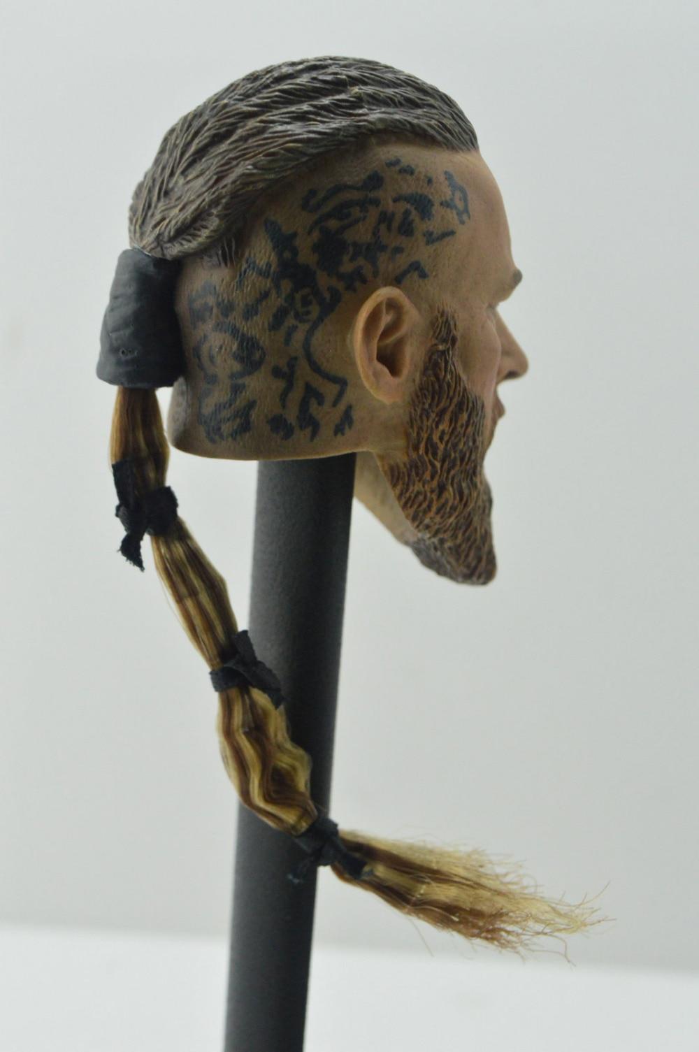 "1:6 Viking Toys Viking Maschio Testa sclulpt F 12/"" Action Figure"
