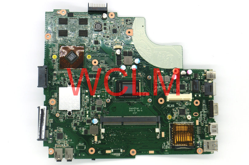 free shipping NEW brand original K84HR laptop motherboard for K43LY MAIN BOARD SR04L I3 CPU 216-0809000 60-NB2MB1300 100% Tested