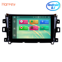 Harfey Car Radio For 2011 2012 2013 2014 2015 2016 NISSAN navara Android 8.0/8.1 10.1 Inch HD Touchscreen GPS Multimedia Player
