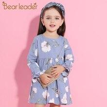 Bear Leader Girl Dress 2016 Brand Princess Dresses Girls Clothes Watermelon Print T-shirt+Floral Braces Skirt  for Kids Clothes