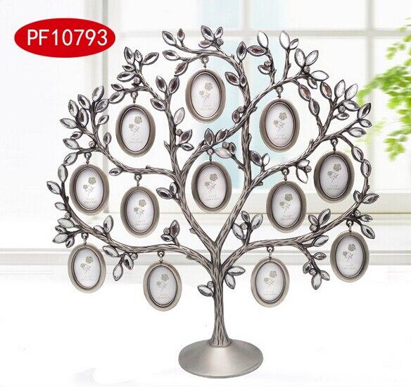 Cadre photo cadeau souhaitant arbre forme cadre photo maison métal mariage cadeaux anniversaire cadeau