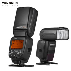 YONGNUO YN600EX-RT II Flash Speedlite 2.4G Wireless HSS 1/8000s Master TTL Speedlight for Canon DSLR Whit YN-E3-RT II Trigger