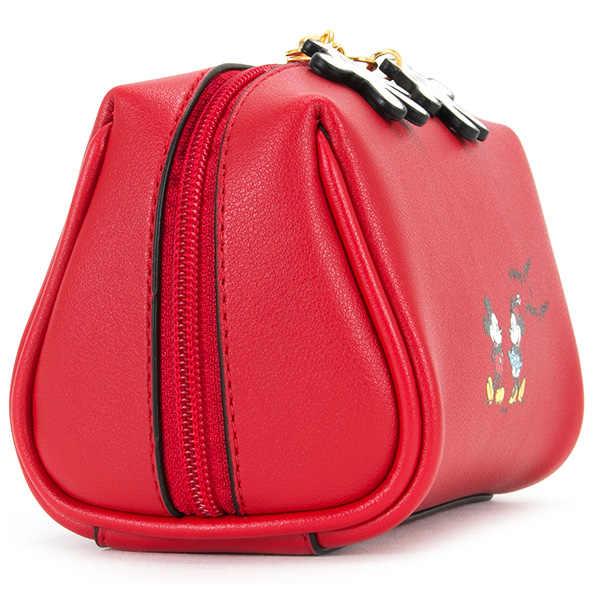 Disney Mickey mouse cosmetici peluche del sacchetto della borsa della signora di sacchetto di frizione della moneta del fumetto sacchetto del pacchetto della carta dell'unità di elaborazione della borsa mini borsa di s