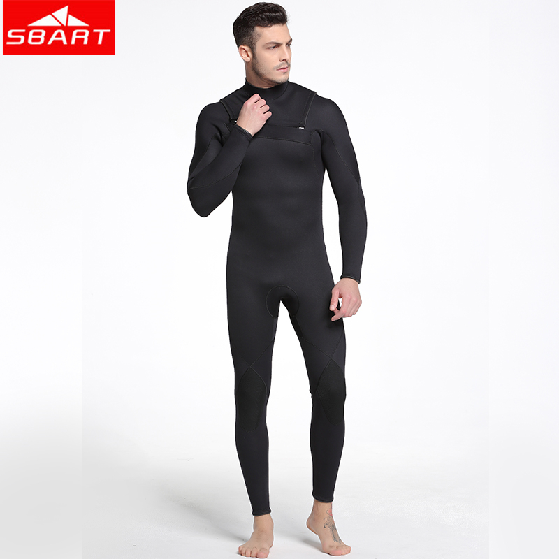 SBART 3mm Neoprene Wetsuits Underwater Hunting Keep Warm Windsurf Swimsuit One-piece Surfing Spearfishing Scuba Diving Suits sbart 3mm neoprene wetsuit men underwater hunting spearfishing keep warm windsurf swimsuit one piece surfing scuba diving suits