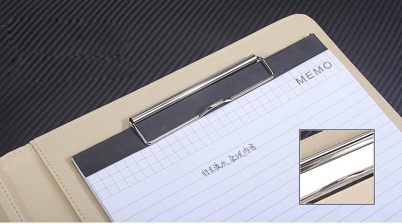 PU leather folder (12)