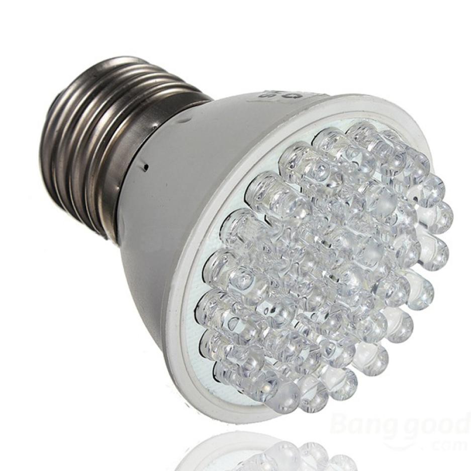 E27 38LED 1.9W Plants Grow Light Bulb Garden Indoor Hydroponic Lamp Home Seeds Growing Lights 110V 22V