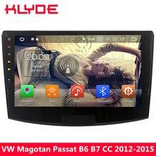 KLYDE 10,1 «4G Octa Core Android 8 4G B Оперативная память + 32 ГБ DVD мультимедиа плеер стерео радио для VW Passat Magotan B6 B7 CC 2012-2015