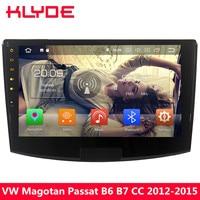 KLYDE 10.1 4G Octa Core Android 8 4GB RAM+32GB Car DVD Multimedia Player Stereo Radio For VW Magotan Passat B6 B7 CC 2012 2015