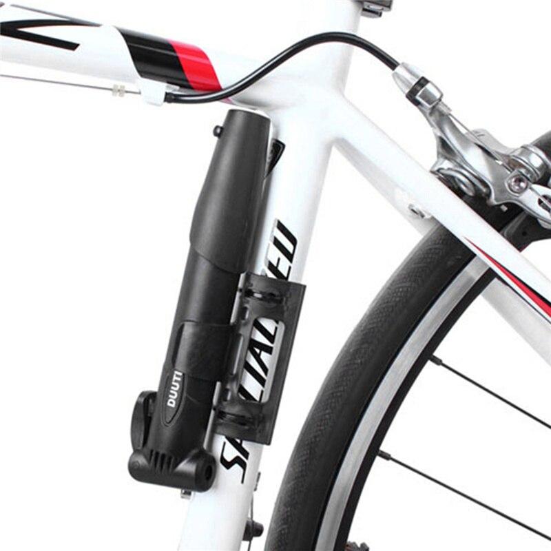 Лидер продаж DUUTI брендовая мультифункциональная Портативный Велоспорт велосипед воздушный насос шины мяч с двойным поршнем газовый рот Ве...