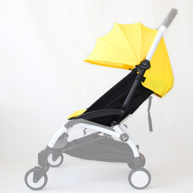 Yellow Color Pack Sun Canopy Rain Cover and Seat Pad Cushion For Babyzen YOYO Baby Stroller  sc 1 st  AliExpress.com & Yellow Color Pack Sun Canopy Rain Cover and Seat Pad Cushion For ...
