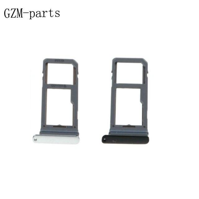 GZM-Partes 1 pieza para Samsung Galaxy S8 G950F S8 Plus SIM ranura para tarjeta SD de la bandeja de tarjeta adaptador