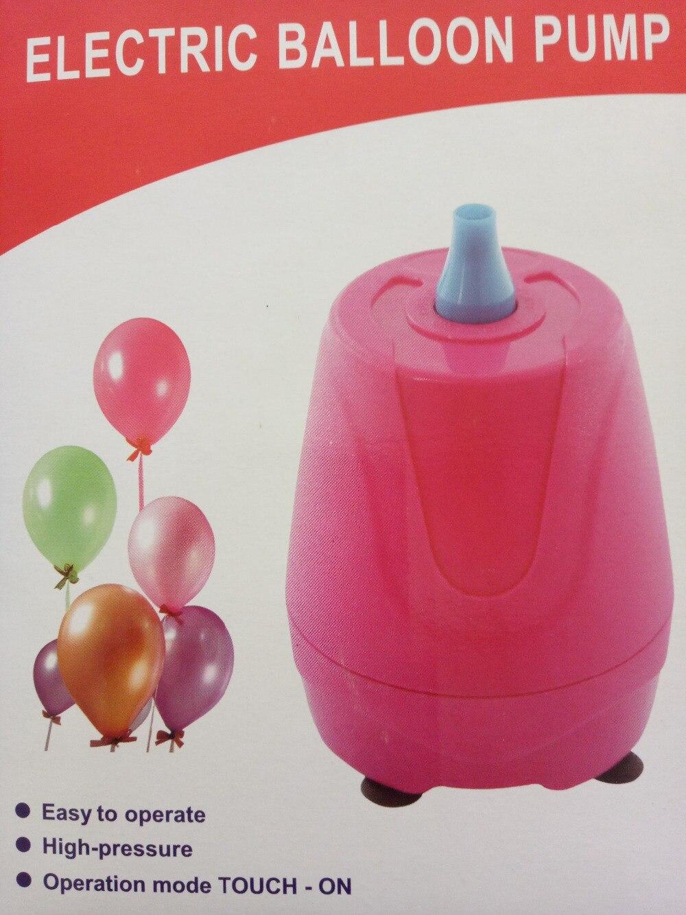 Pompa Untuk Balon Listrik 220 V Blower Udara Aksesoris Elektrik Electric Balloon Pump Partai Dekorasi Ballons Portabel Mesin Tidak Helium Baloon Di Dari