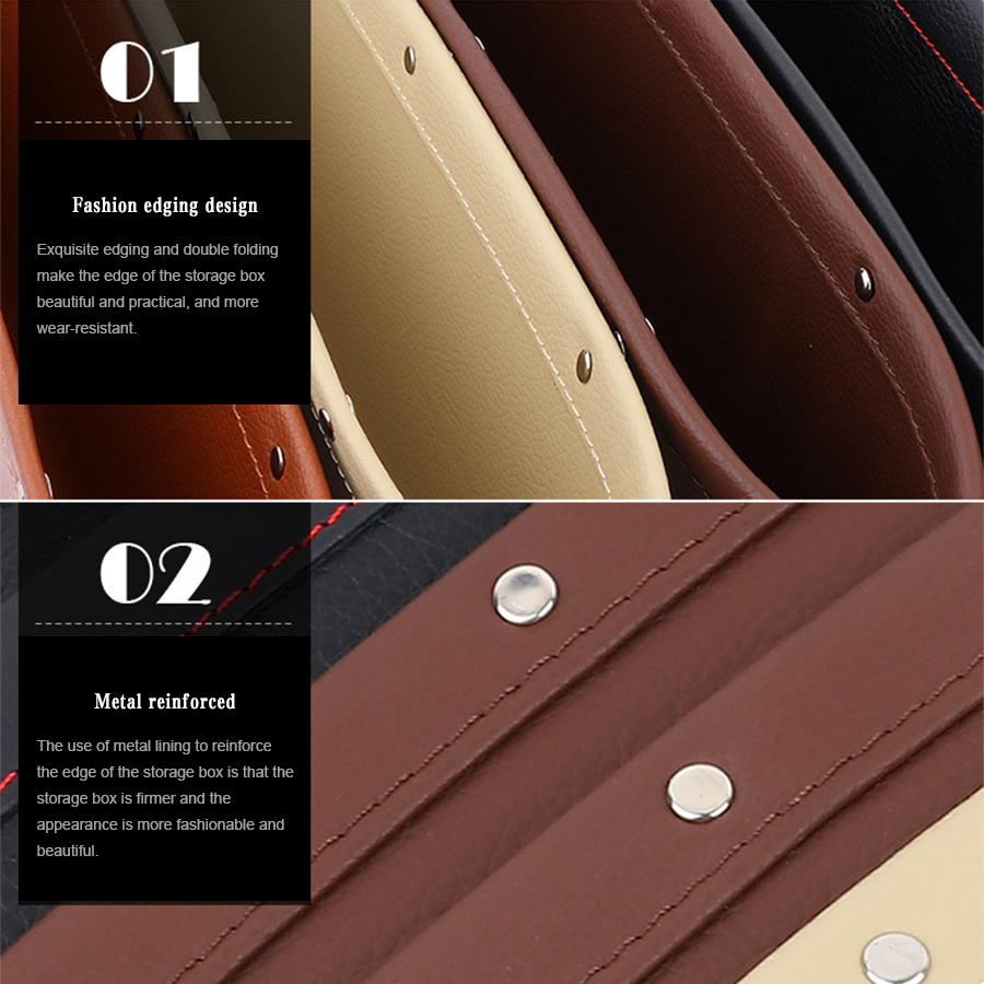 2pcs auto accessories storage clip PP leather seat slot for Volvo xc60 s60 v40 xc70 s80 s40 xc90 v70 v60 mazda 2 3 5 6 cx 5 cx 7 in Stowing Tidying from Automobiles Motorcycles