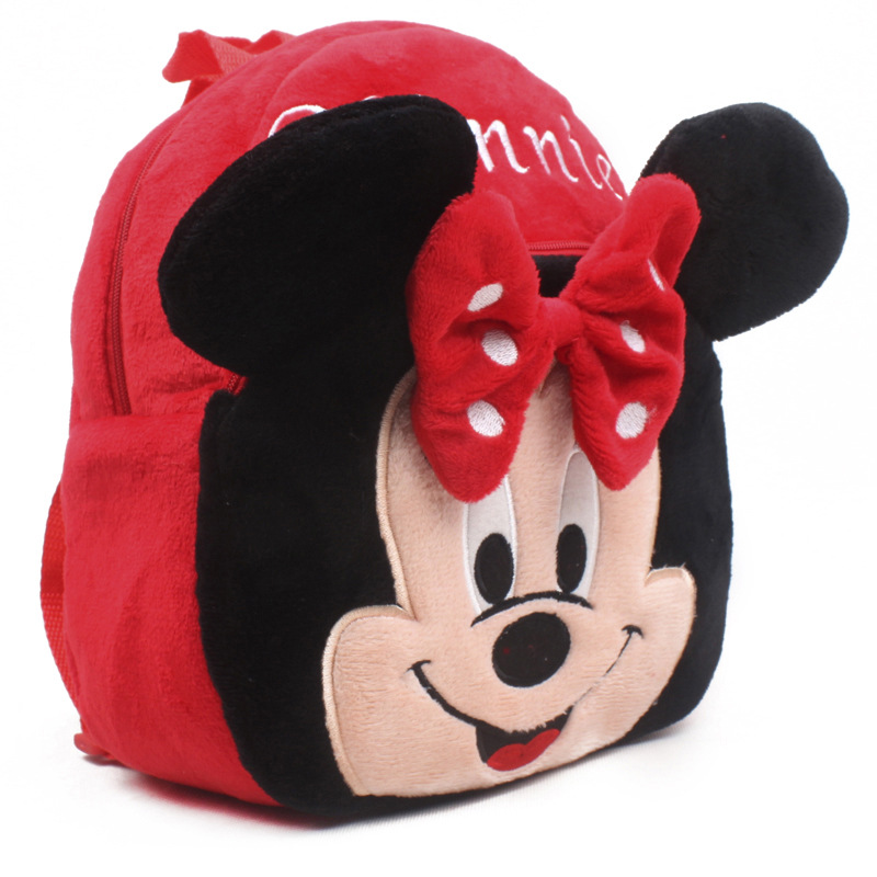 New-2015-Mickey-and-Minnie-Kid-plush-Backpack-Children-School-Bag-For-Girl-Boy-Student-Schoolbag-baby-cute-mini-bags-5