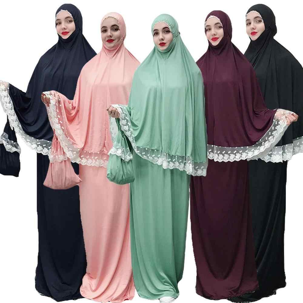 Рамадан халат абайя Дубай, Турция мусульманский хиджаб платье восточный женский халат для женщин Катара Caftan Tesettur Elbise молитва Исламская одежда