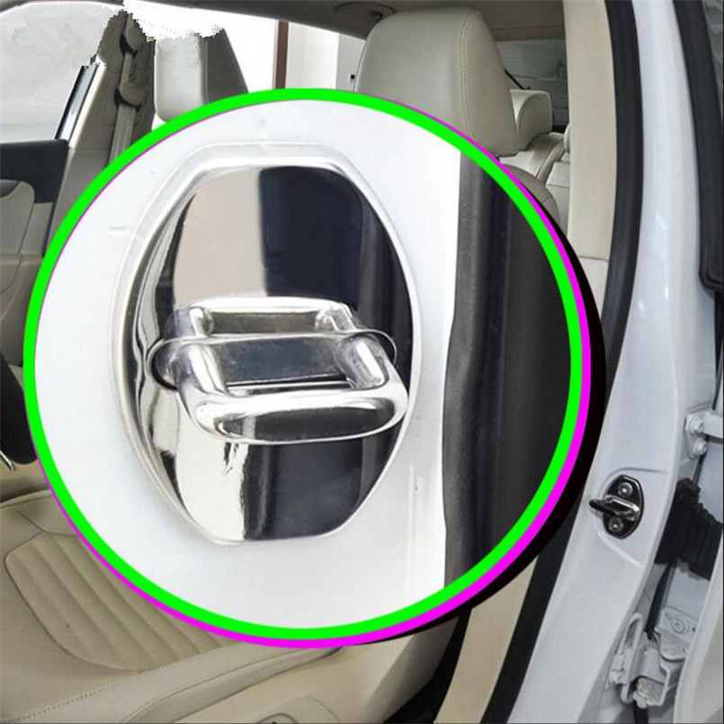 Cotochsun 4pcs/Set Car Styling Door Lock Waterproof Rust Protector Cover Case For Bentley Flying Spur Mulsanne(2010-2016)