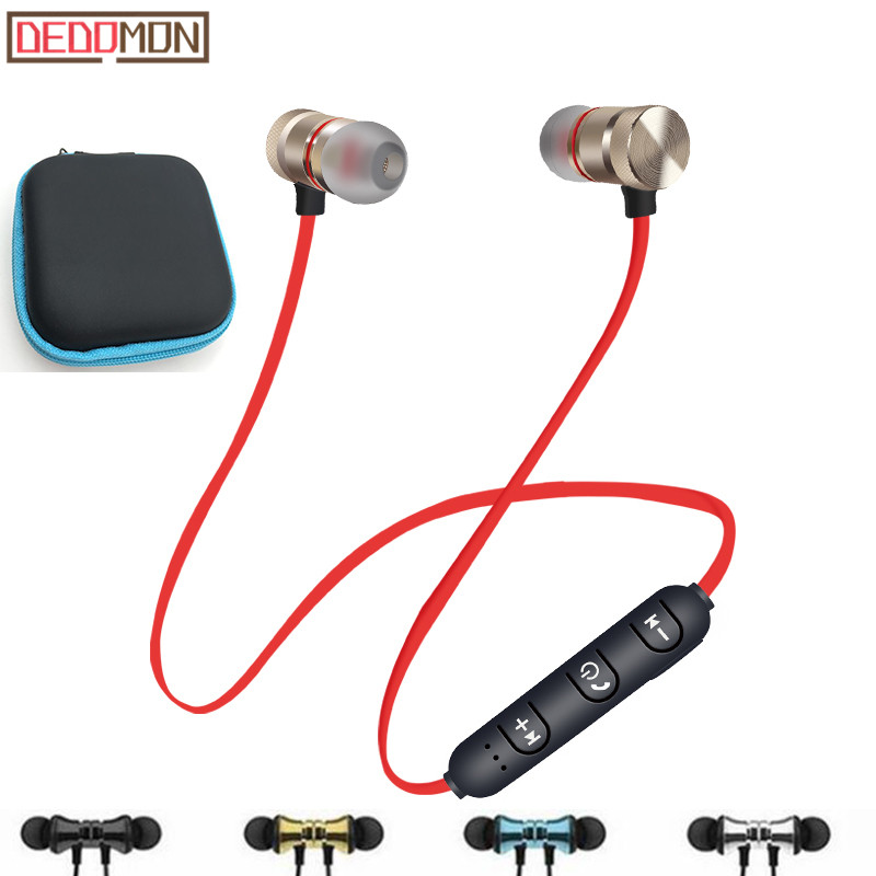 Wireless Bluetooth Earphones Sport Running Headphones Stereo Super Bass Headset Earbuds Handsfree With Mic For iPhone Android