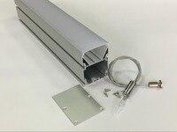Frete grátis 3 anos de garantia led linear alumínio habitação  linear led luminárias 1.8 m/pcs 20 pçs/lote Luzes LED p/ bar     -