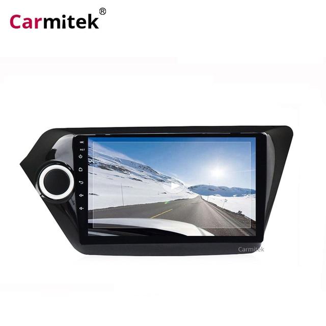 2Din Android 9 Car Multimedia Player For KIA RIO 3 4 Car Radio Stereo 2010-2017 Navigation AutoRadio GPS Tape Recorder K2 Wifi